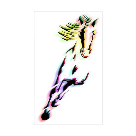 Horse Sticker (Rectangle)