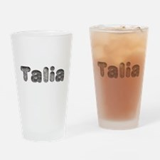 Talia Wolf Drinking Glass