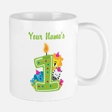 CUSTOM One Year Old Green Mugs