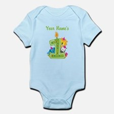 CUSTOM One Year Old Green Body Suit