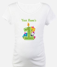 CUSTOM One Year Old Green Shirt