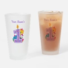 CUSTOM 1 year old Drinking Glass