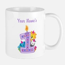 CUSTOM 1 year old Mugs