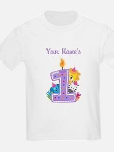 CUSTOM 1 year old T-Shirt