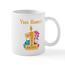 CUSTOM Your Names 1 Mugs
