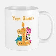 CUSTOM Your Names 1 Mugs