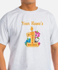 CUSTOM Your Names 1 T-Shirt