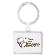 Gold Ellen Keychains