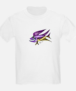 happy flying fish T-Shirt