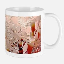 Abstract Snow Trees Mugs