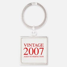 VINTAGE 2007 aged to perfection-red 300 Keychains