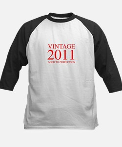 VINTAGE 2011 aged to perfection-red 300 Baseball J