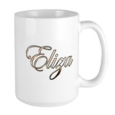 Gold Eliza Mugs