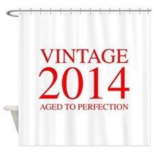VINTAGE 2014 aged to perfection-red 300 Shower Cur