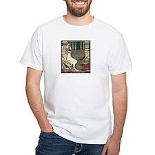 Egyptian Woman in Garden Shirt