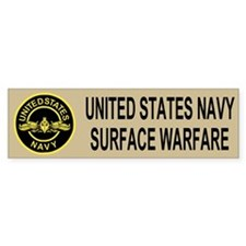 Surface Warfare Officer <BR>Bumper Bumper Sticker