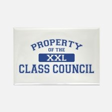 Property Of The Class Council XXL Rectangle Magnet