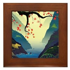 Water Way (full) Framed Tile