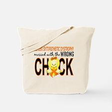 RSD MessedWithWrongChick1 Tote Bag