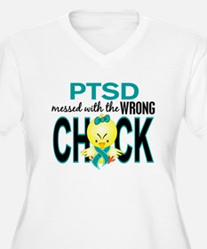 PTSD MessedWithWr T-Shirt