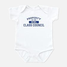 Property Of The Class Council XXL Infant Bodysuit
