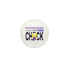 RA MessedWithWrongChick1 Mini Button (100 pack)