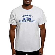 Property Of The Class Council XXL T-Shirt