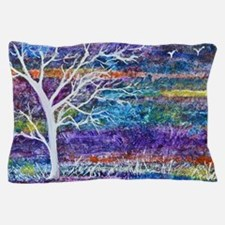 Abstract Tree landscape Pillow Case