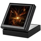 Black light Keepsake Boxes