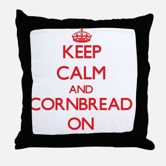 Cornbread Throw Pillow