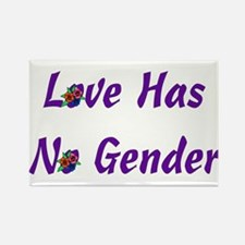 Love Has No Gender Rectangle Magnet