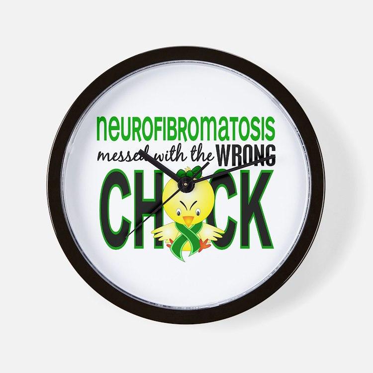 Neurofibromatosis MessedWithWrongChick1 Wall Clock