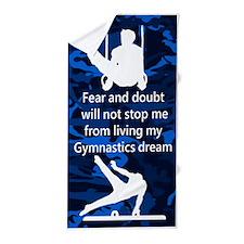 Gymnast Dreams Beach Towel