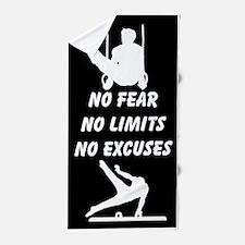 Fearless Gymnast Beach Towel