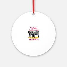 Make Me Happy! Ornament (Round)