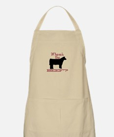 Where's The Beef? Apron