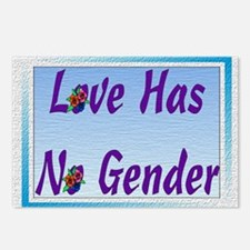 Love Has No Gender Postcards (Package of 8)