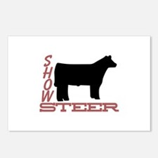 Show Steer Postcards (Package of 8)