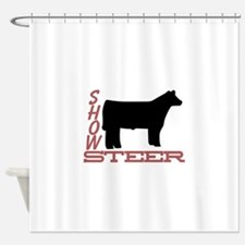 Show Steer Shower Curtain