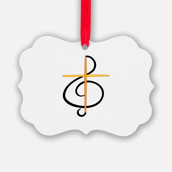 Church Musician Ornament