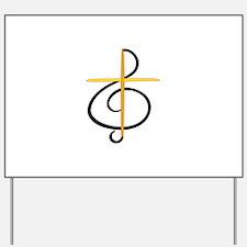 Church Musician Yard Sign