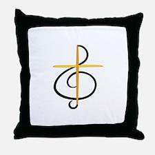 Church Musician Throw Pillow