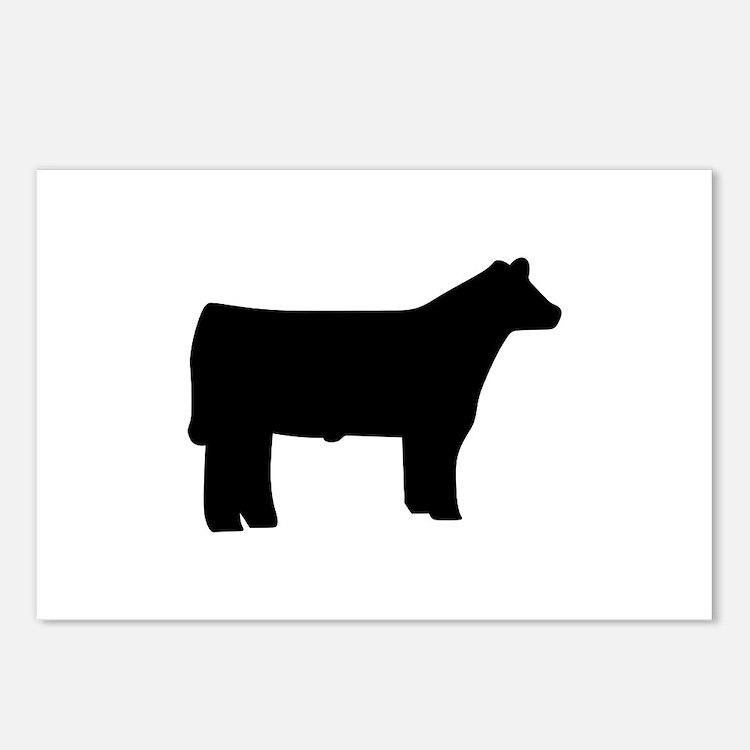 Steer Postcards (Package of 8)