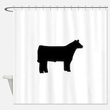 Steer Shower Curtain
