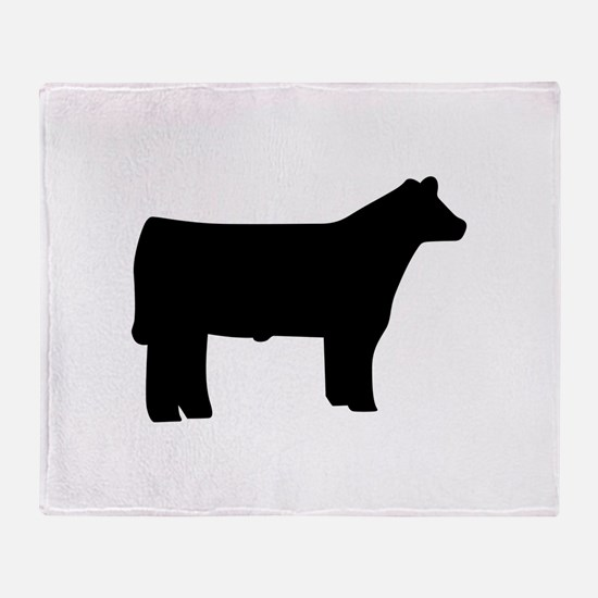 Steer Throw Blanket