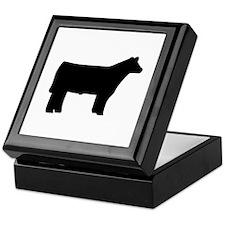 Steer Keepsake Box
