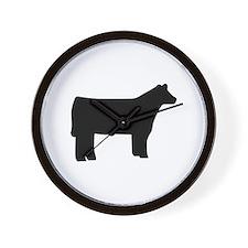 Steer Wall Clock
