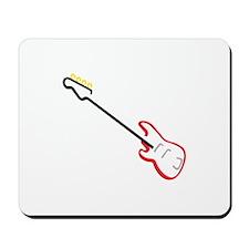 Electric Bass Guitar Mousepad