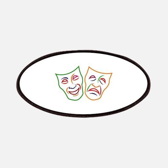 Comedy Tragedy Masks Patch