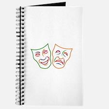Comedy Tragedy Masks Journal